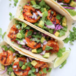 Grilled Cajun Shrimp Tacos