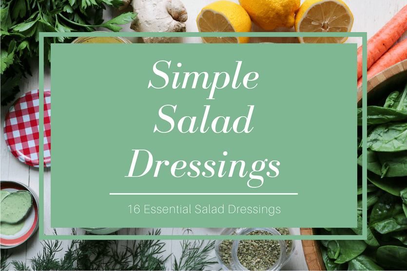 Simple Salad Dressing eBook