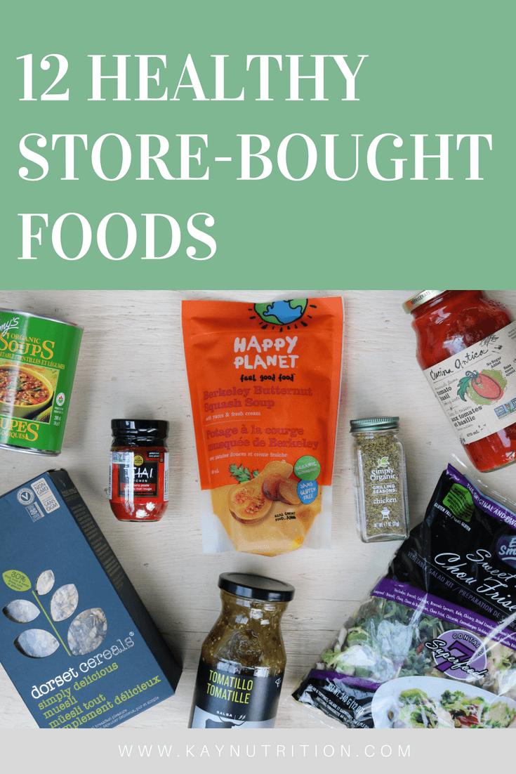 12 Healthy Store-Bought Foods