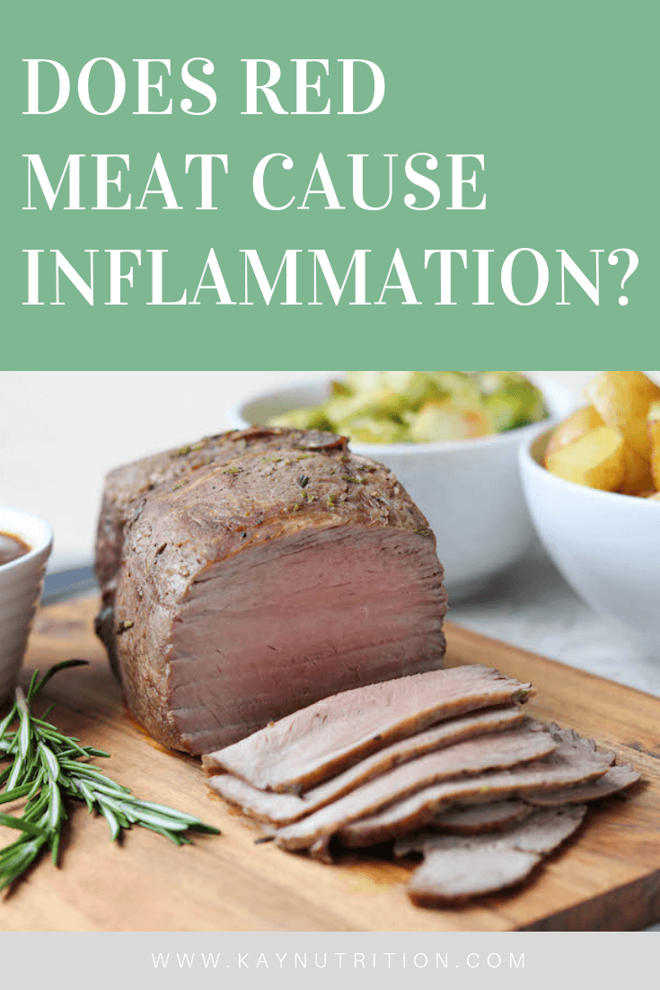Does Red Meat Cause Inflammation?
