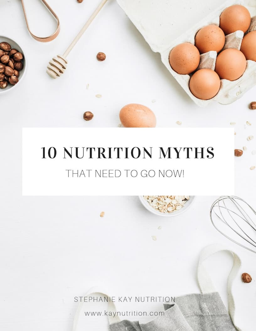 10 Worst Nutrition Myths of all Time