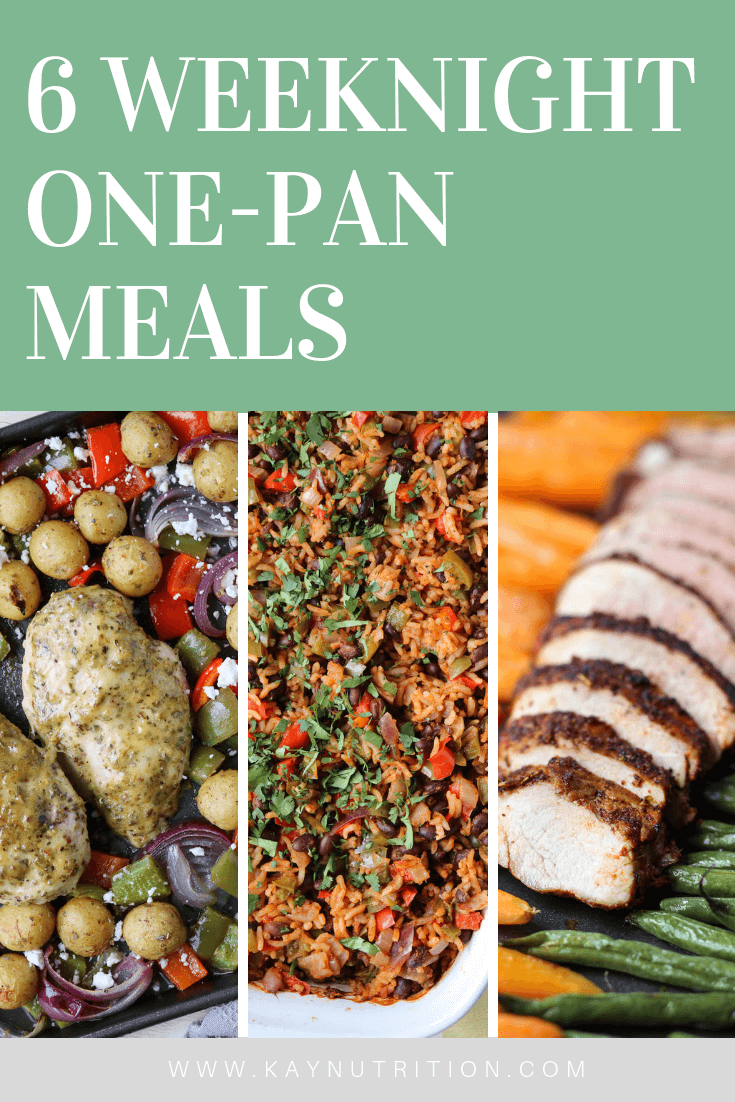 6 Weeknight One-Pan Meals