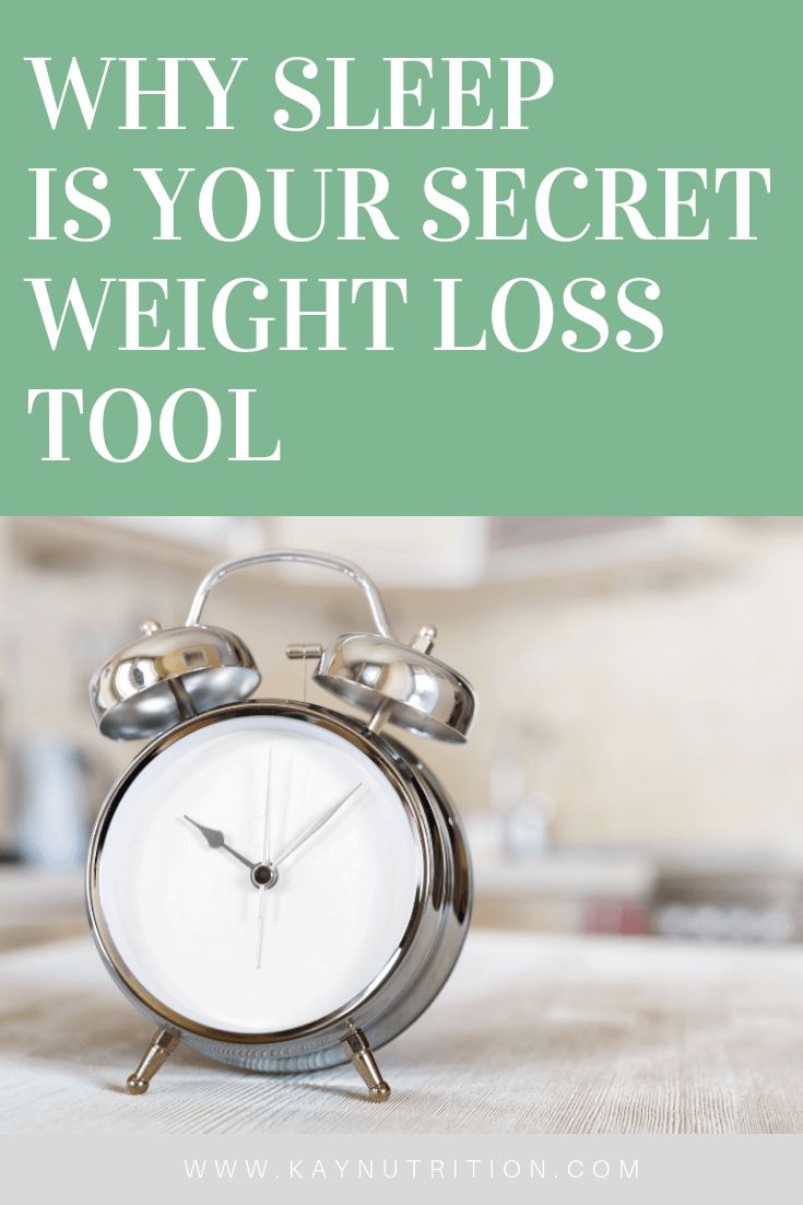 Why Sleep is Your Secret Weight Loss Tool