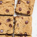 Flourless Chocolate Chip Squares