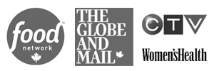 CTV, Food Network, The Globe & Mail, Women's Health