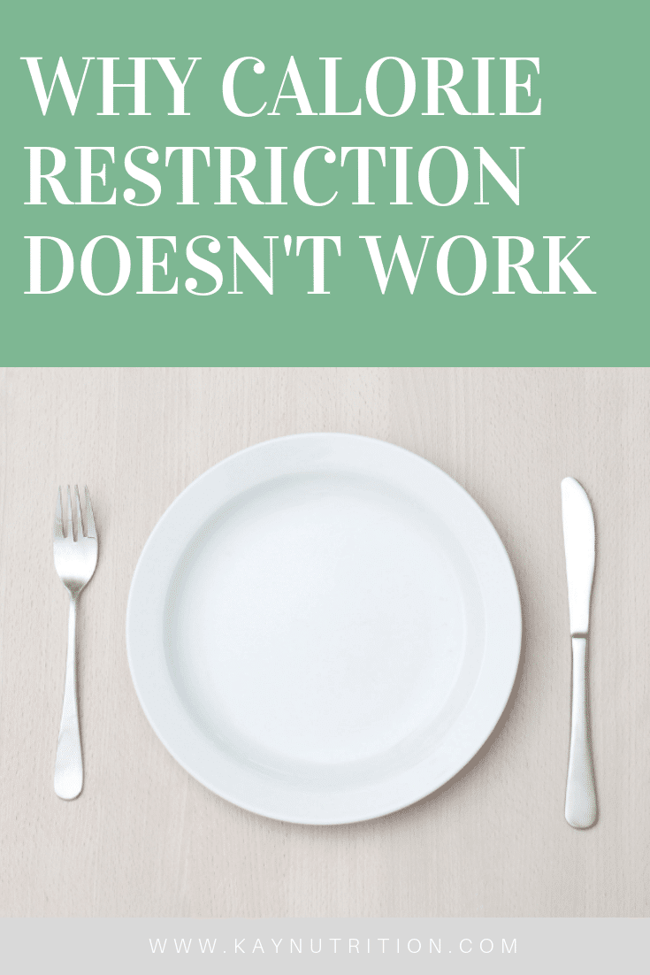 Why Calorie Restriction doesn't Work
