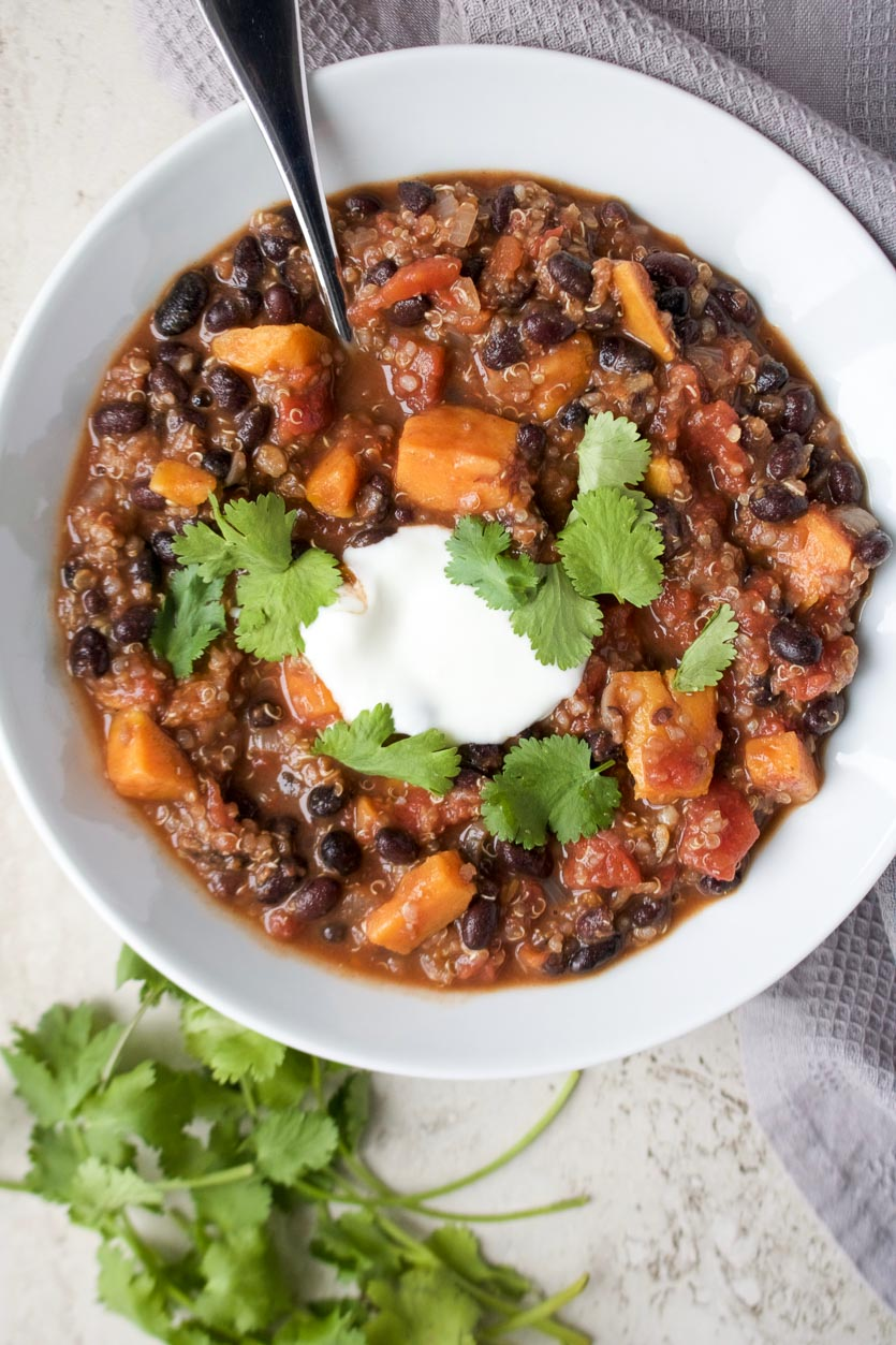 Smoky Quinoa & Black Bean Stew