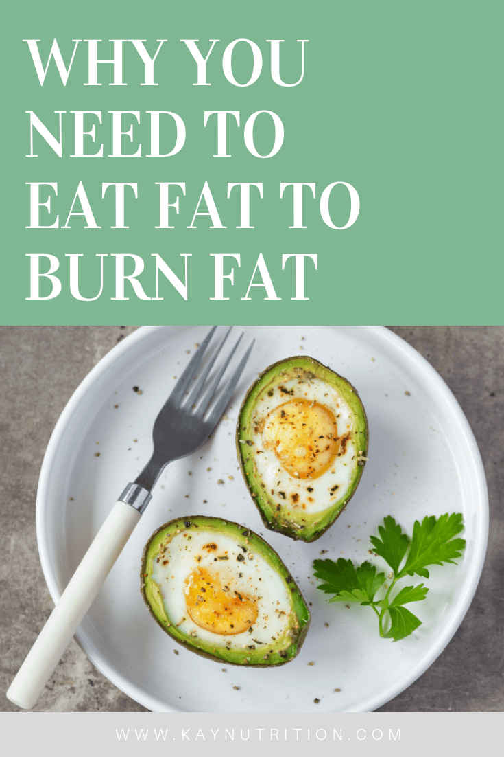Why You Need to Eat Fat to Burn Fat