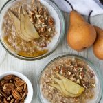 Slow Cooker Cardamom Pear Oatmeal