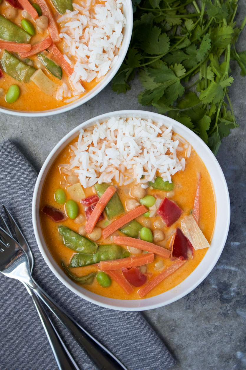 Veggie Curry in a Hurry