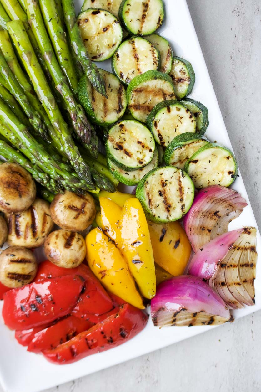 BBQ Grilled Vegetables