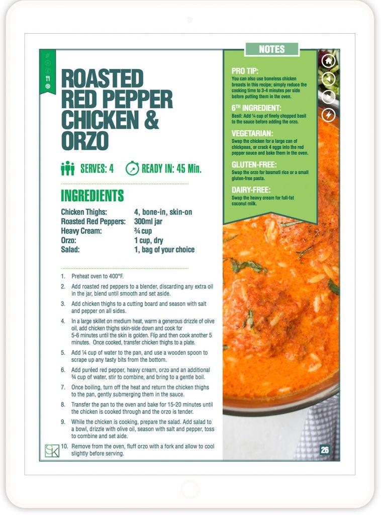 5 Ingredient Recipes Cookbook Stephanie Kay Nutrition