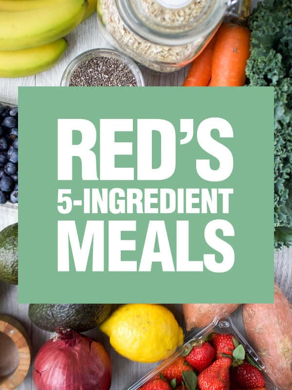 Red's 5-Ingredient Meals eCookbook!