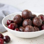 Dark Chocolate & Cherry Energy Bites