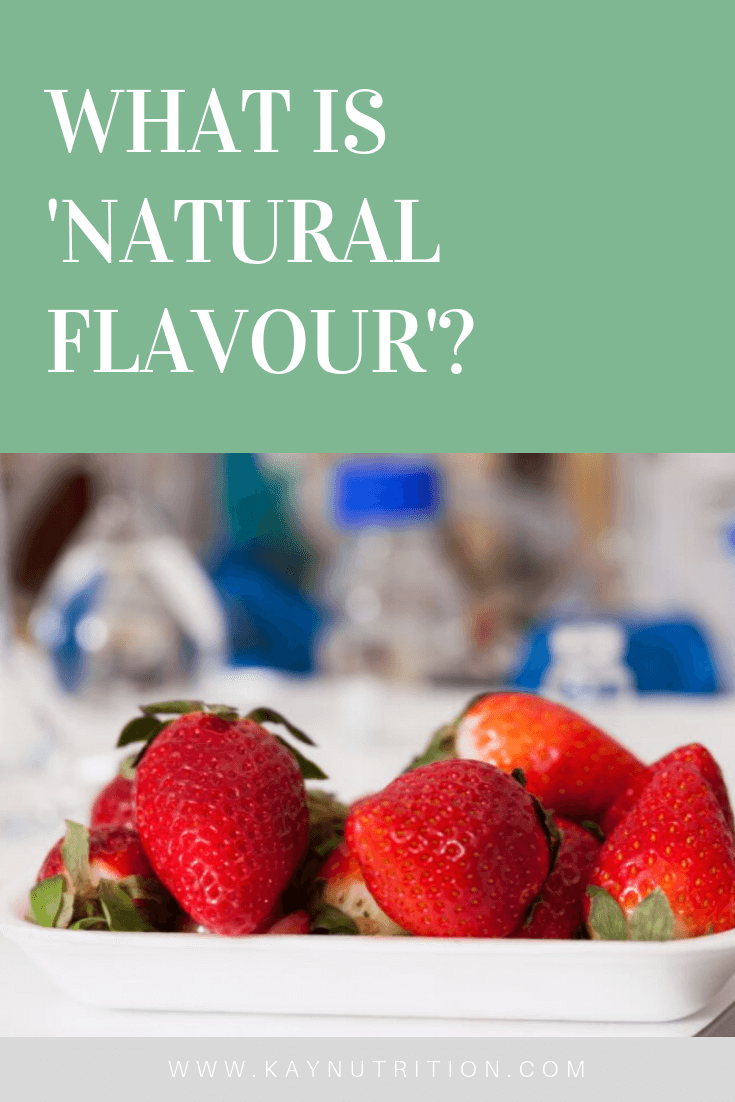What is 'Natural Flavour' anyway?
