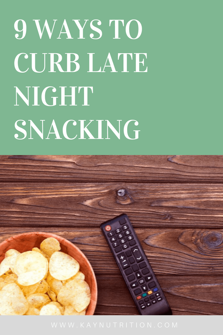 9 Ways to Curb Late Night Snacking