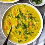 Golden Chicken & Lentil Soup