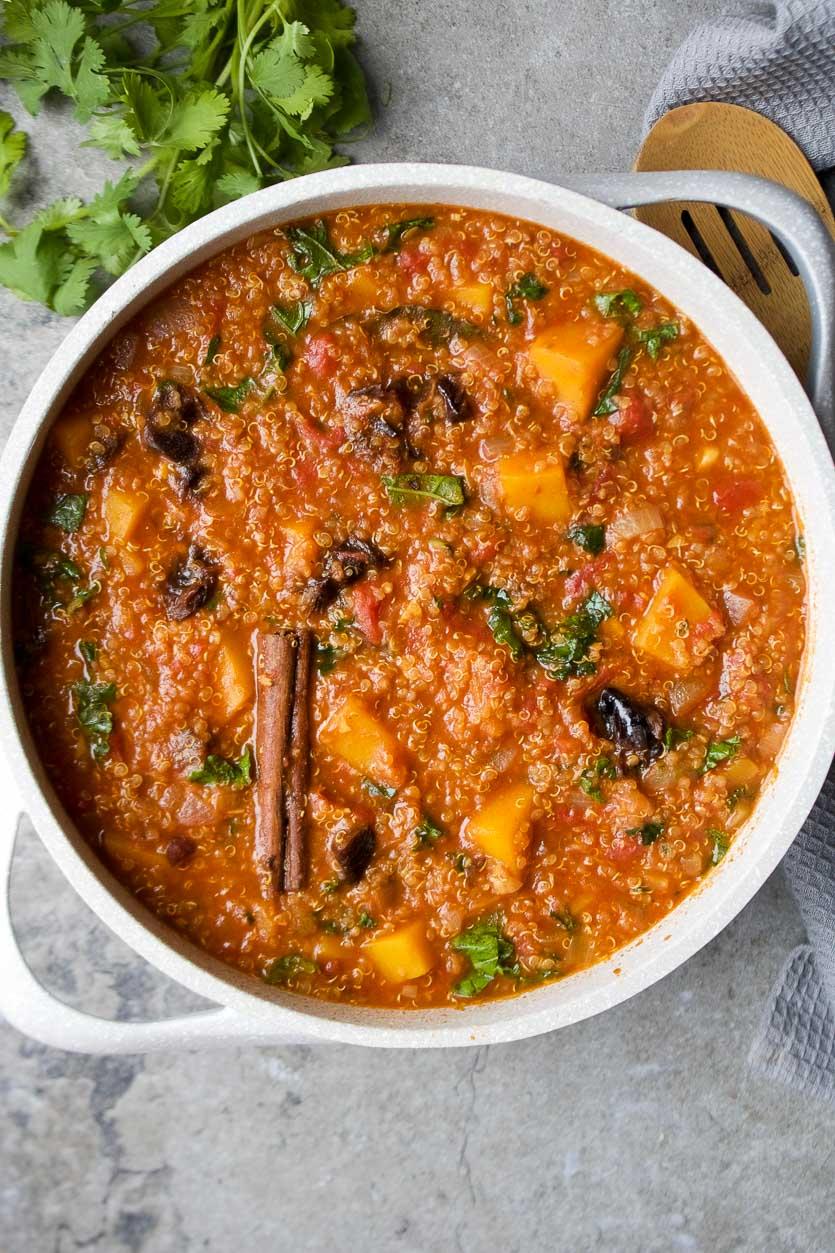 Quinoa, Squash & Prune Stew