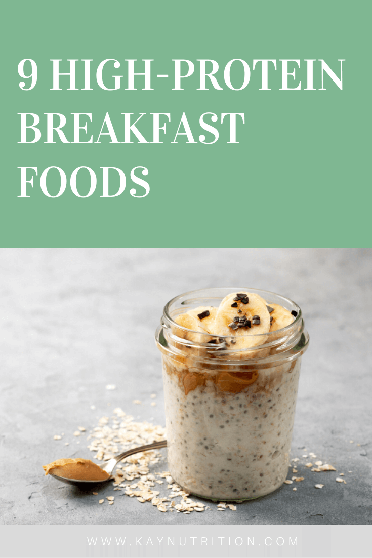 9 High-Protein Breakfast Foods