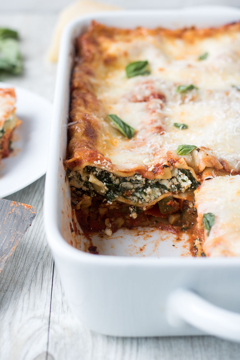 Easy Vegetable Lasagna