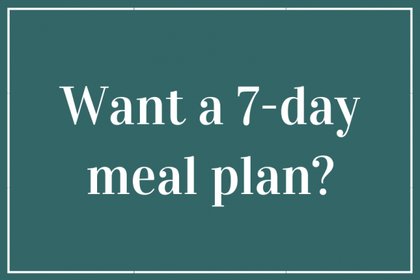 Free 7-Day Meal Plan