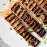 Honey Ginger Glazed Salmon
