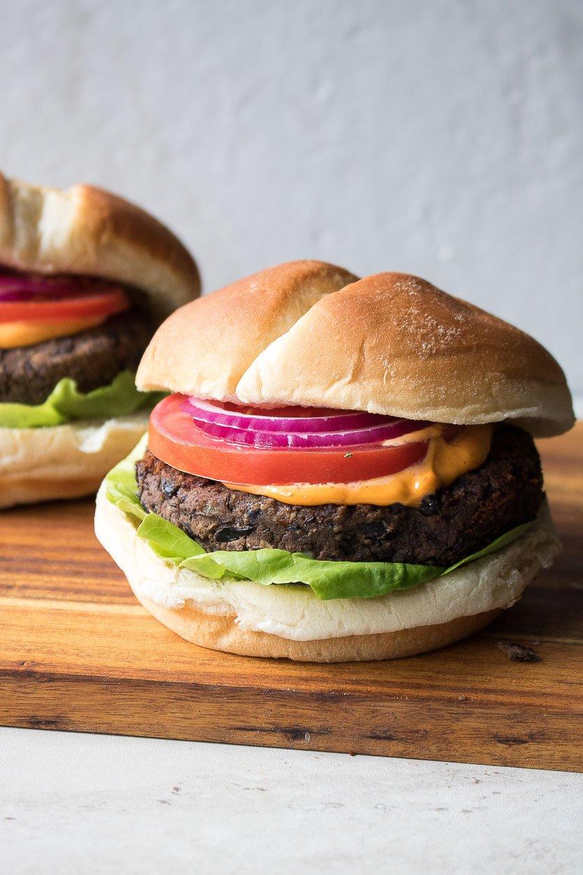 Healthy Black Bean Burgers