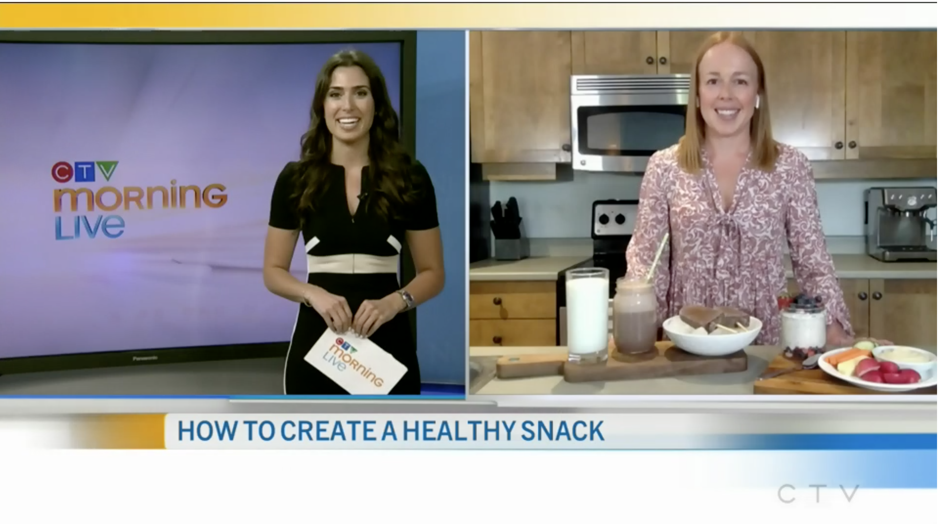 How to Create a Healthy Snack with Stephanie Kay Nutrition
