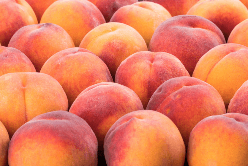 Peach Water Content