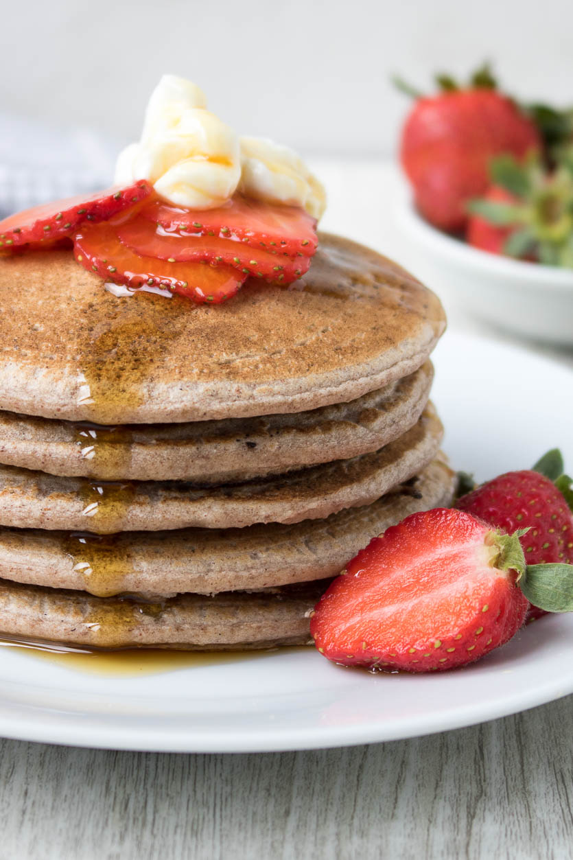 Buckwheat Pancakes Recipe Gluten Free Stephanie Kay Nutrition