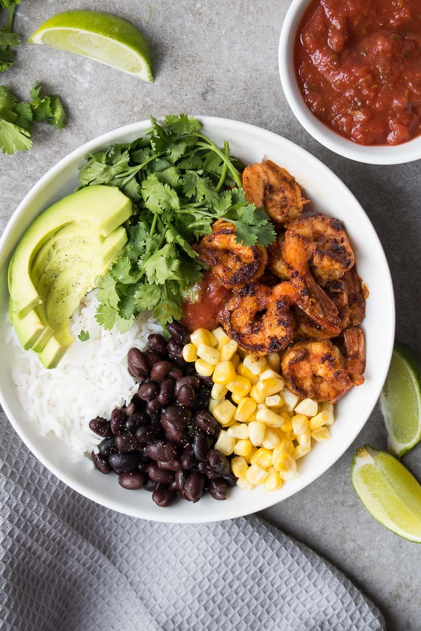 Shrimp Burrito Bowls Recipe