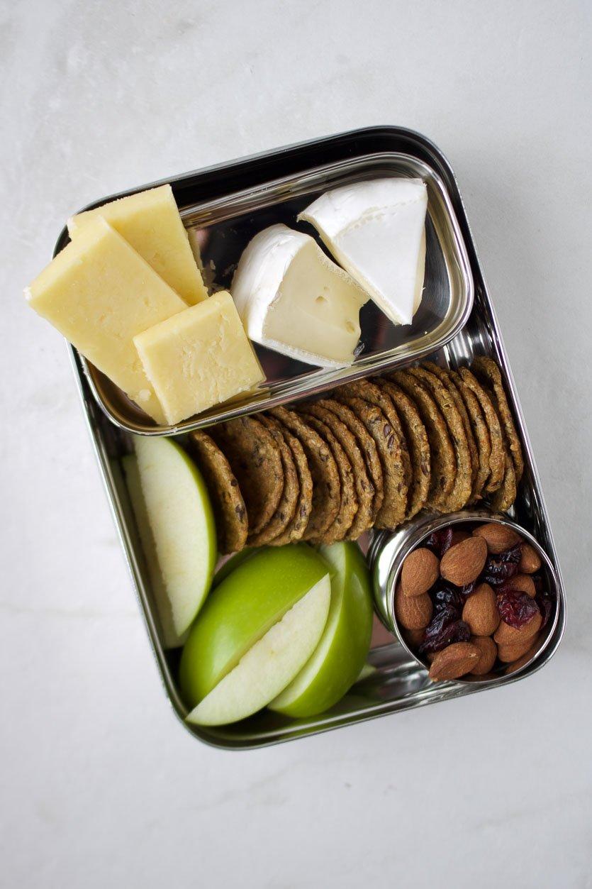 Copycat Starbucks Protein Box: Cheese & Fruit