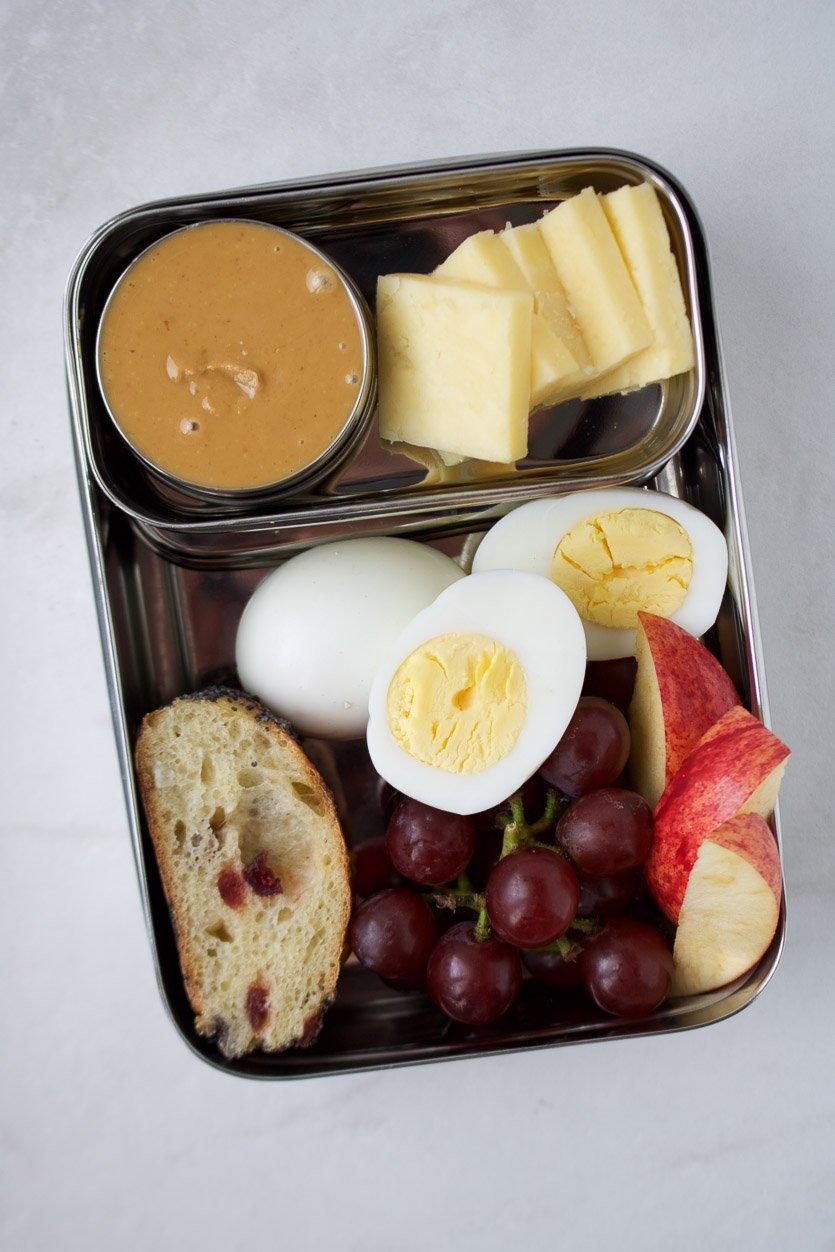 Copycat Starbucks Protein Box: Egg & Cheese