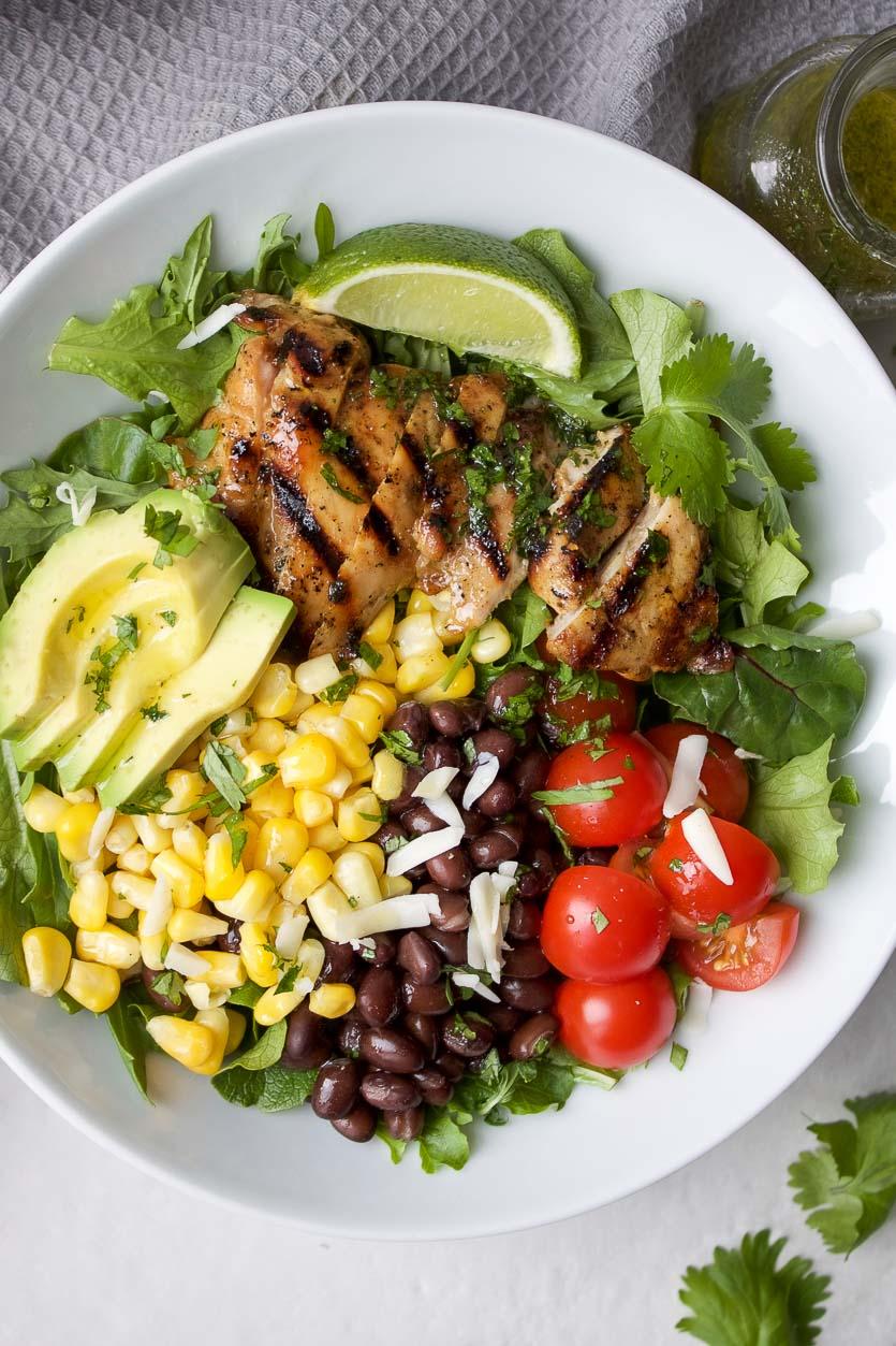 Fiesta Salad with Chicken