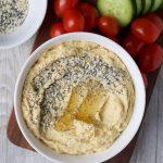 Everything Bagel Hummus Recipe