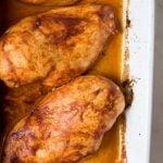 Baked Lemon Paprika Chicken